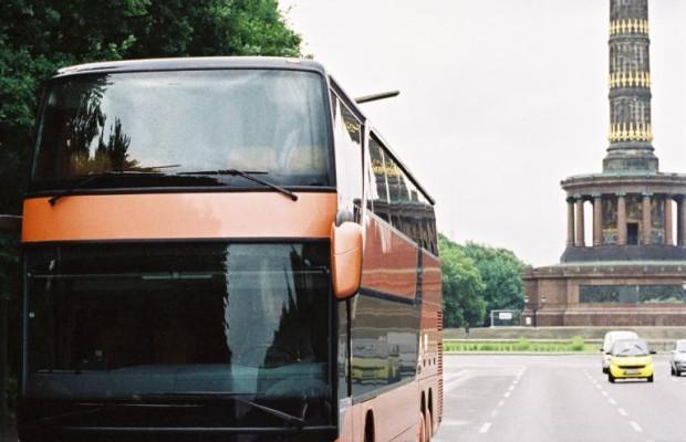 Busse fahren Klima-verträglich