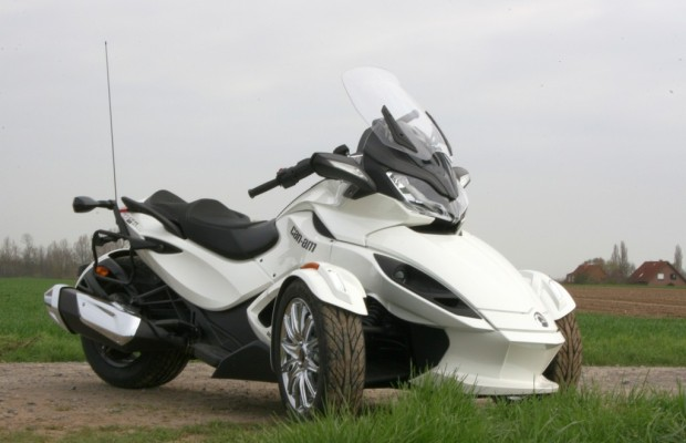 Can-Am Spyder ST: Mischling