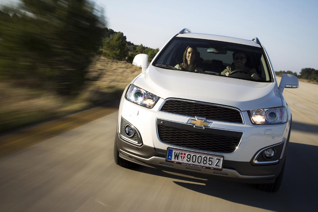 Chevrolet Captiva: Der Plattform-Stratege