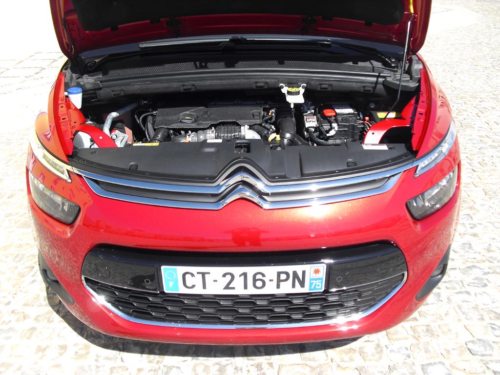 Citroën C4 Picasso: Aggregatemäßig stehen zwei Benziner und zwei Diesel zur Wahl