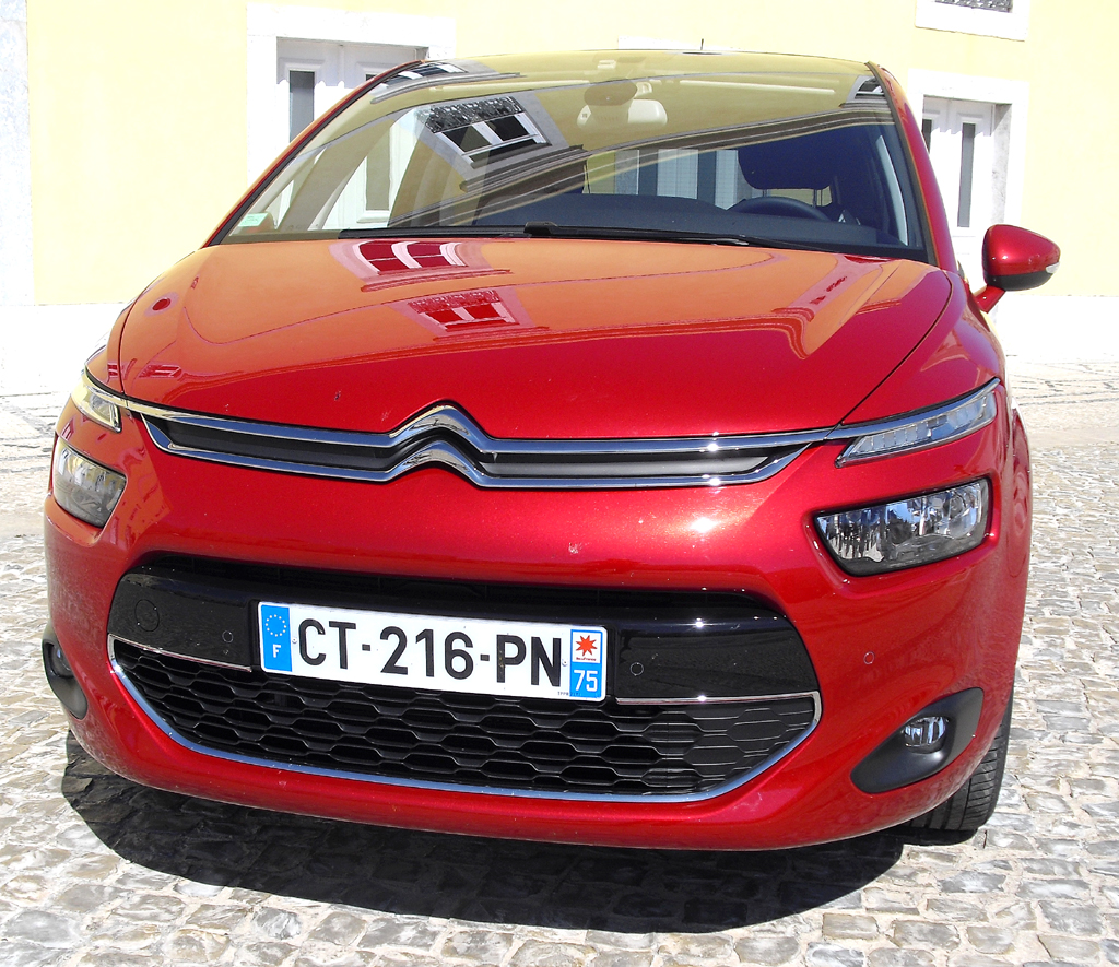 Citroën C4 Picasso: Blick auf die Frontpartie.