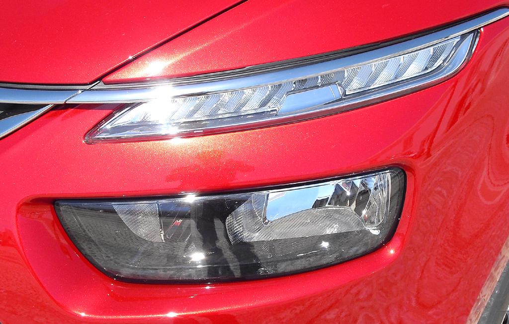 Citroën C4 Picasso: Moderne Leuchteinheit vorn.