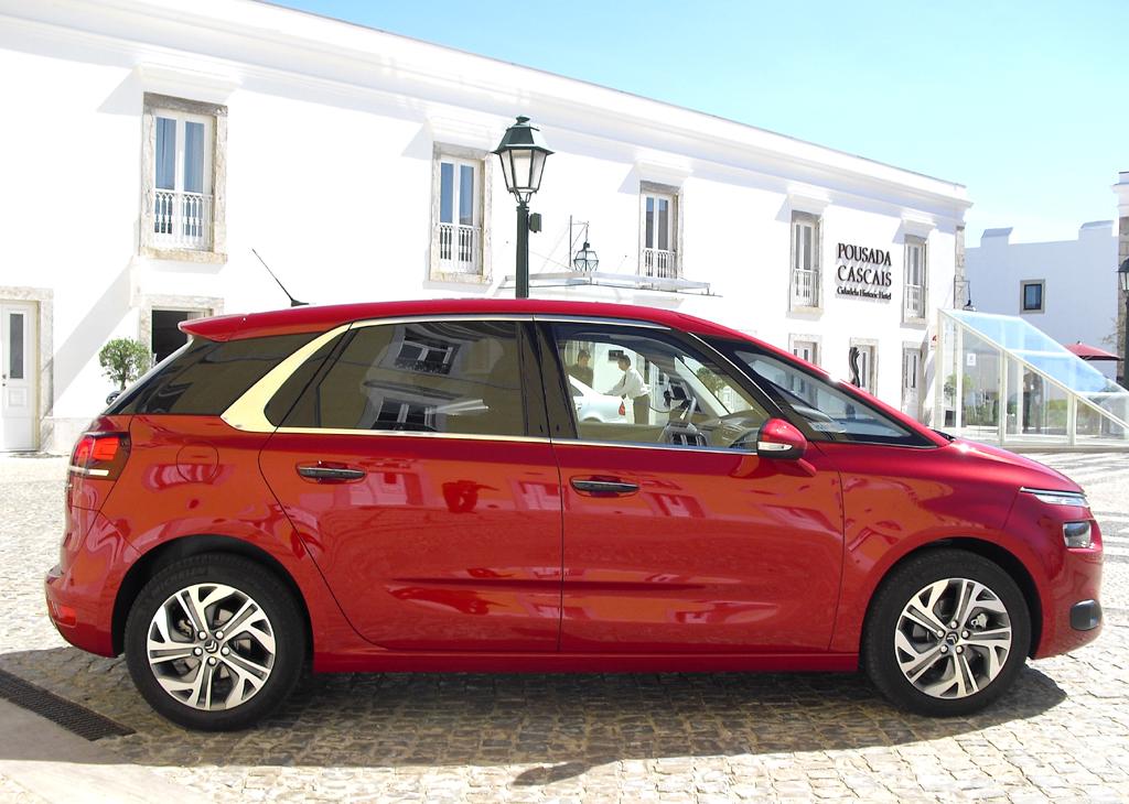 Citroën C4 Picasso: Und so sieht die Neuauflage des kompakten Vans von der Seite aus.