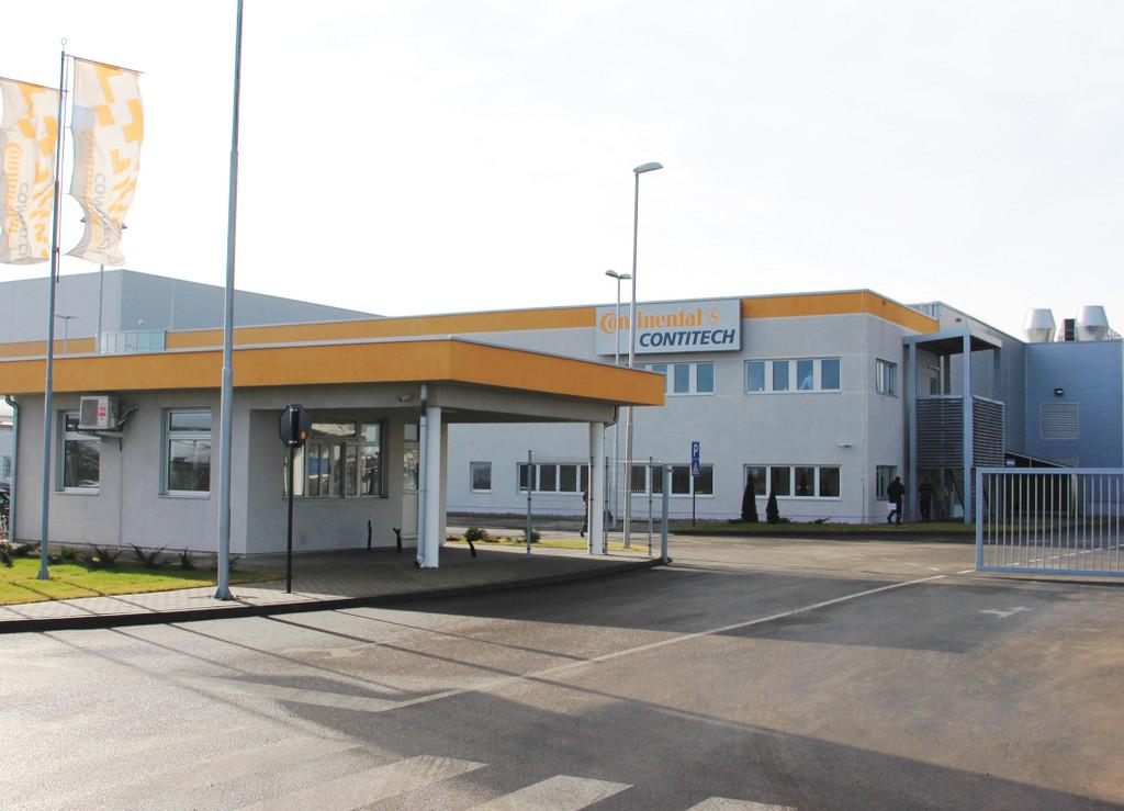 Conti Tech weiht Werk in Serbien ein