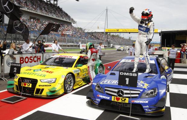 DTM 2013: Mercedes-Benz feiert ersten Saisonsieg