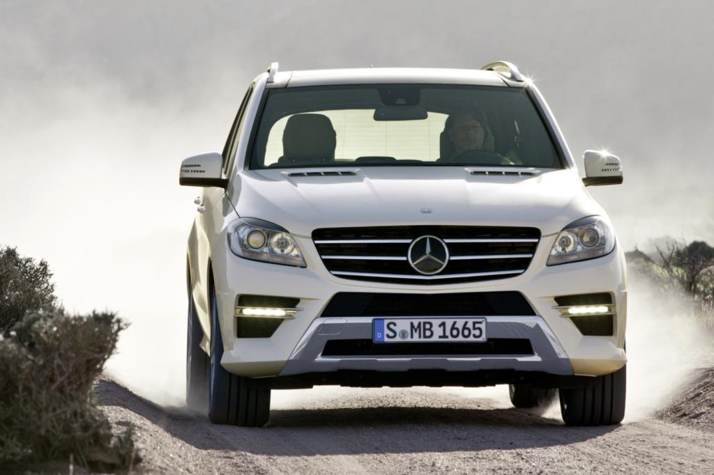 Den Mercedes ML gibt es seit längerem mit Vierzylinder-Diesel