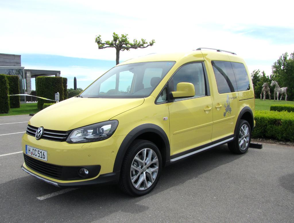 Der Caddy, hier die Pkw-Version, ist der vierte Cross-VW.