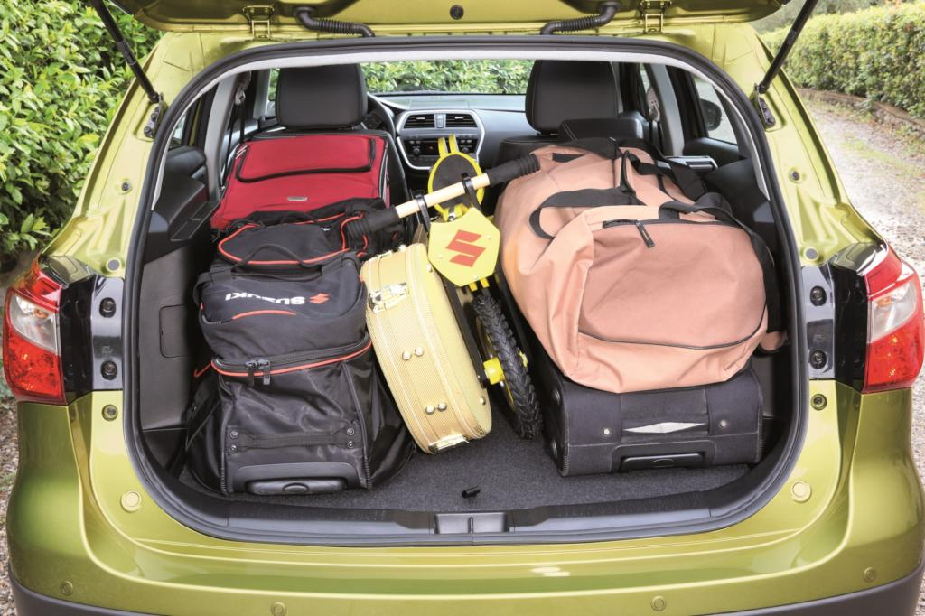 Der Kofferraum des Suzuki SX4 ist auf 430 Liter gewachsen