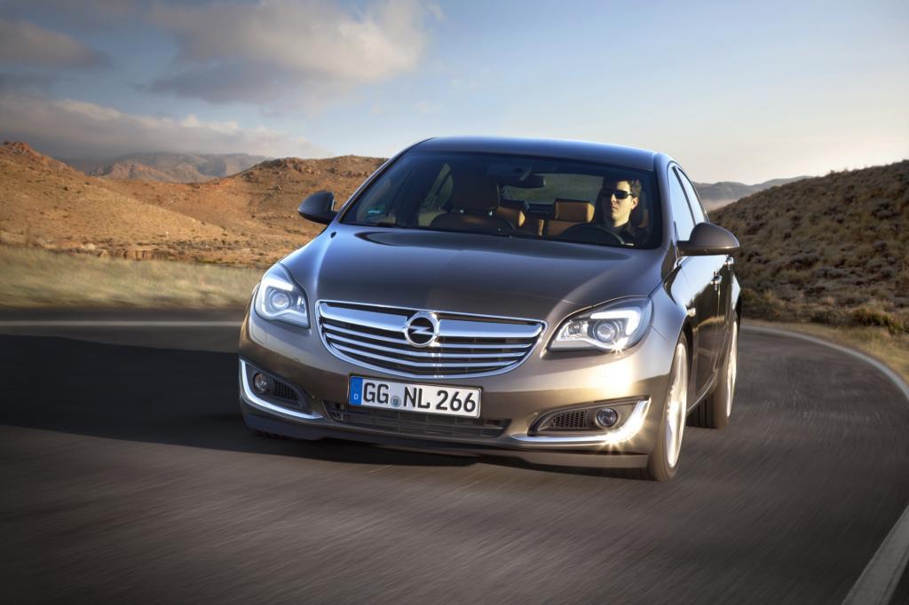 Der Opel Insignia erhält ein umfangreiches Lifting
