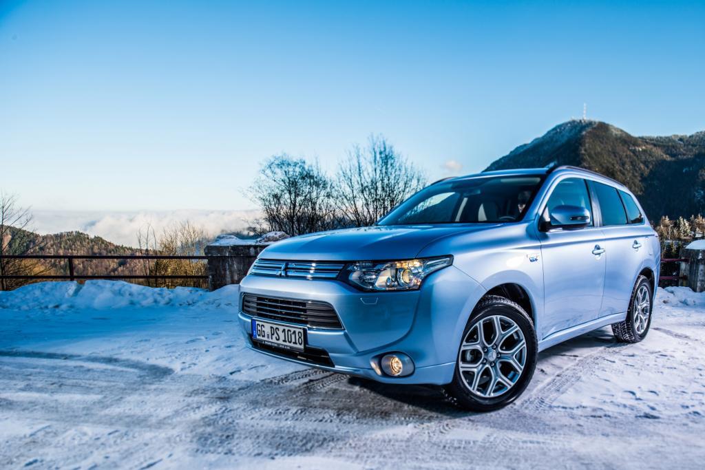 Der Plug-in-Hybrid des Mitsubishi Outlander ist das erste SUV mit Plug-in-Hybrid-Technik