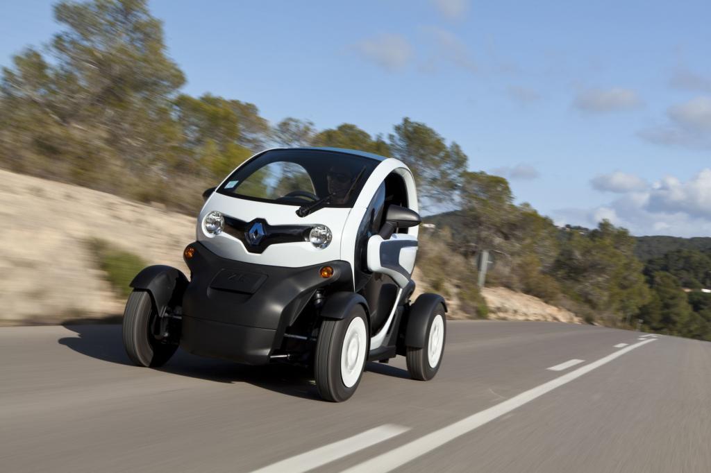 Der Renault Twizy zählt zu den erfolreichsten Elektromobilen in Deutschland