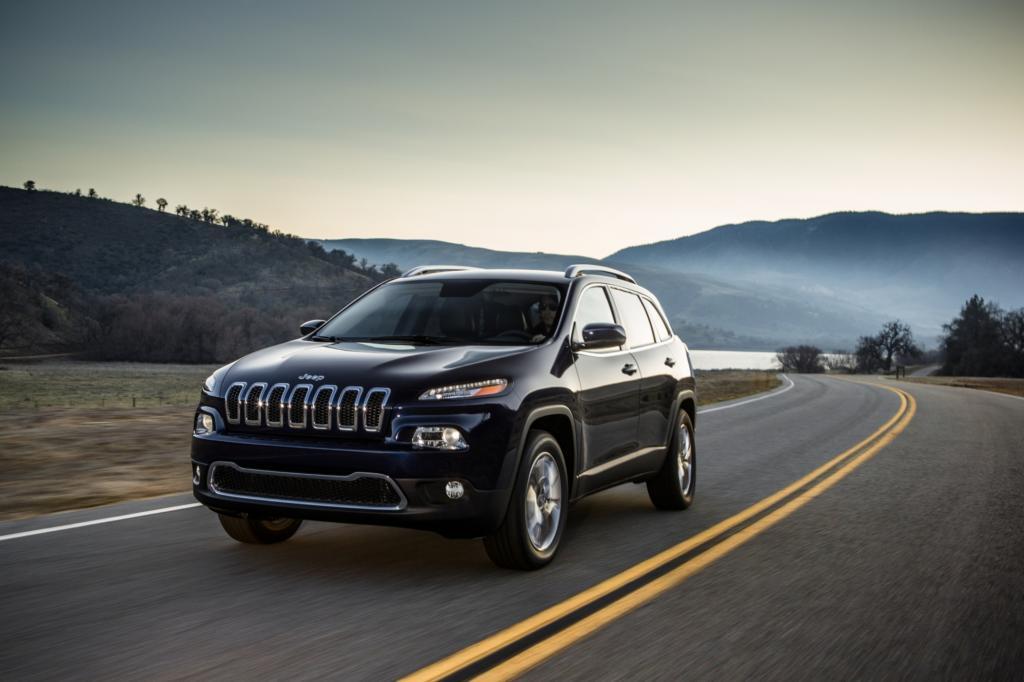 Der neue Jeep Cherokee soll vor allem dem Range Rover Evoque Konkurrenz machen