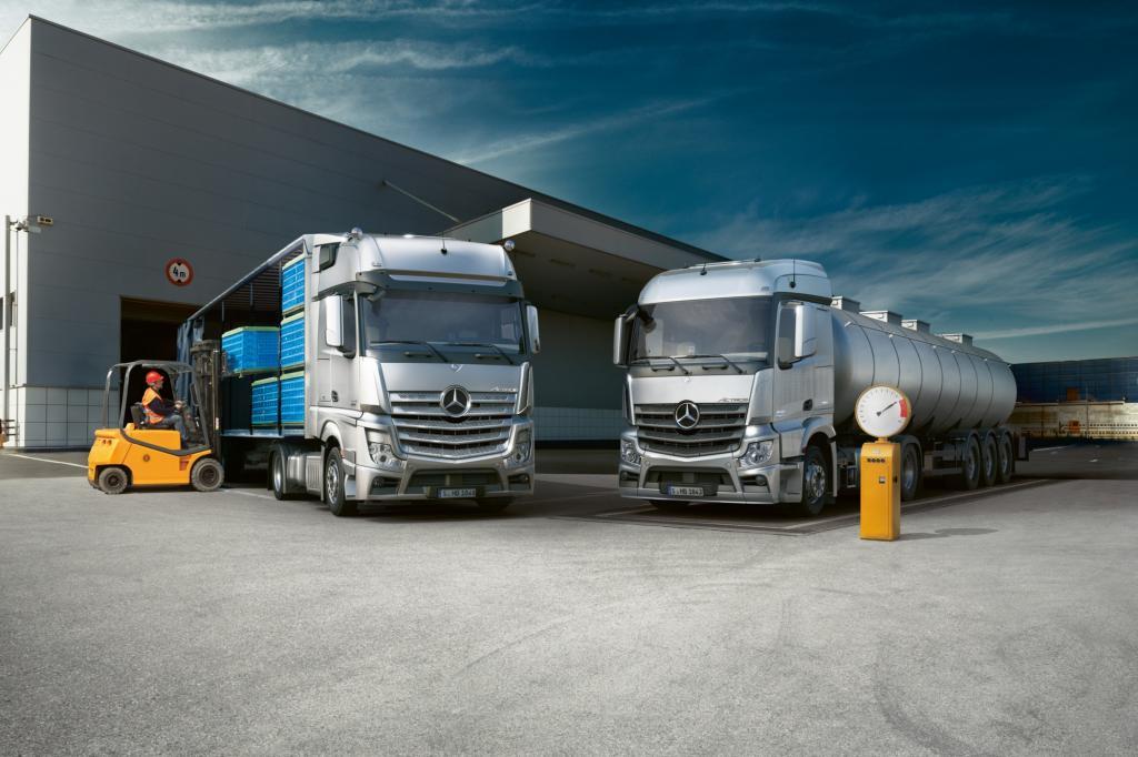 Deutschland gehört weltweit zu den zehn führenden Herstellerländern von Nutzfahrzeugen