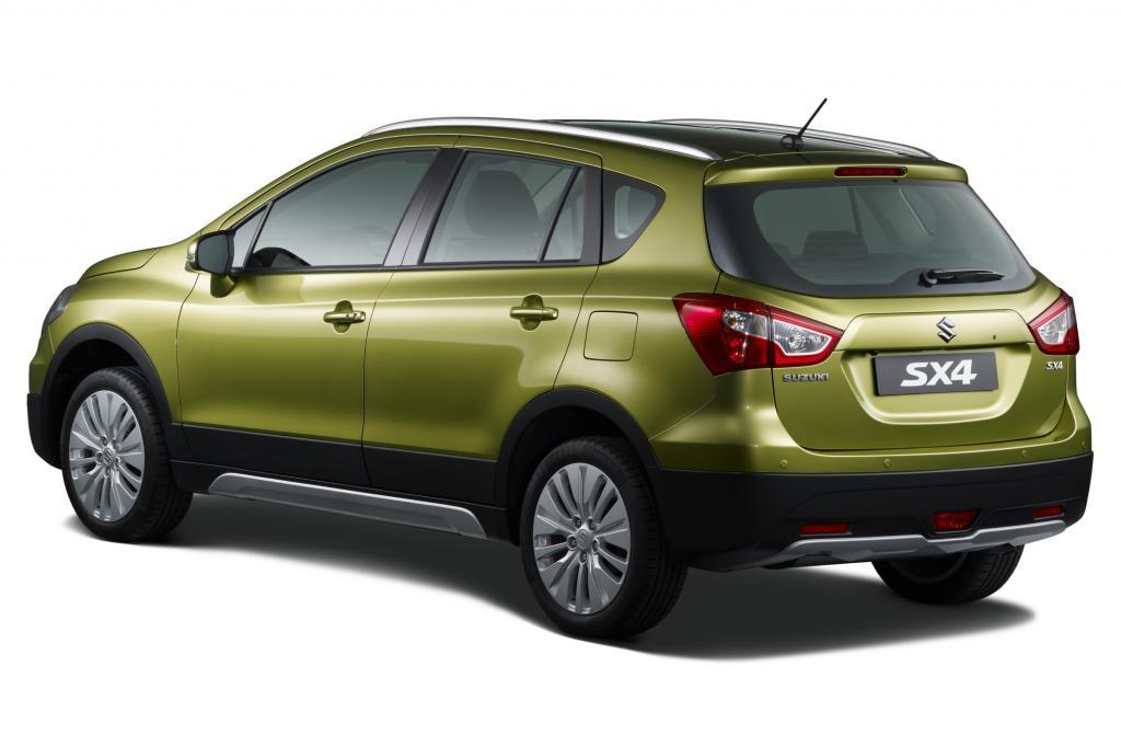 Die Preisliste für den Suzuki SX4 beginnt bei 19.490 Euro  für den 1,6-Liter-Benziner