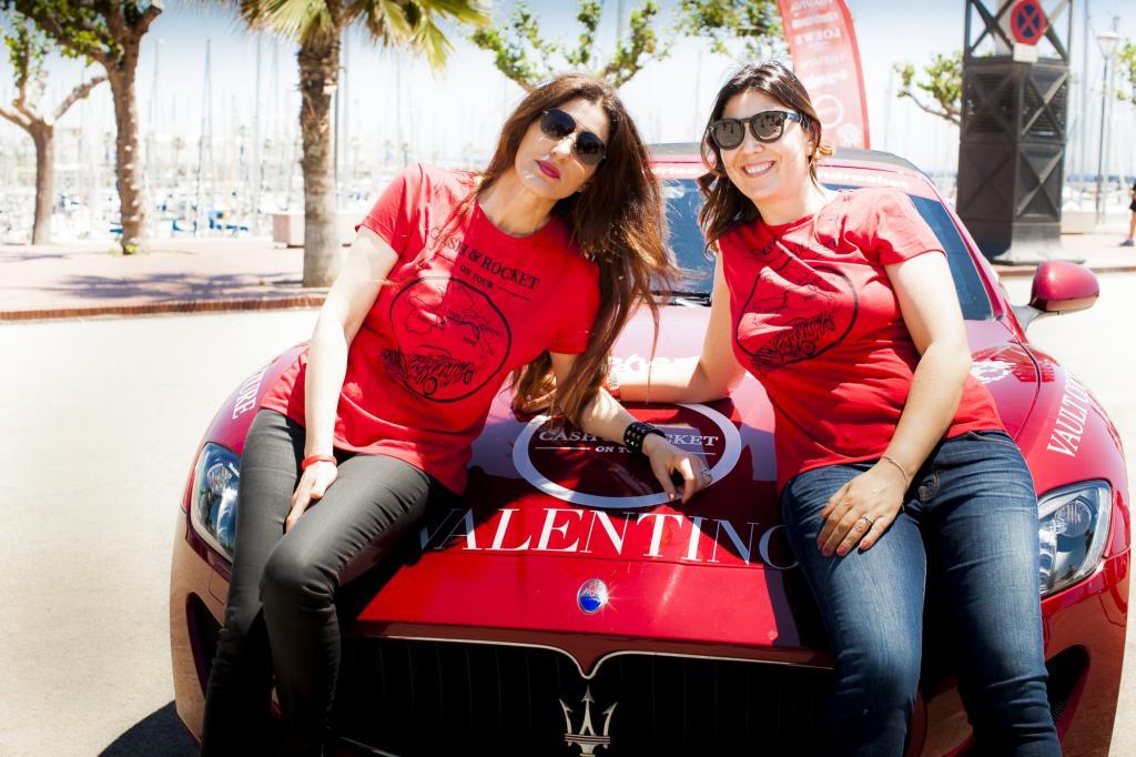 Die Teilnehmerinnen arbeiten hauptberuflich in der Luxusbranche