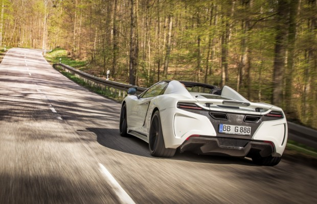 Die schnellste Gartenparty der Welt - Gemballa kommt mit GT Spider zum Goodwood Festival of Speed