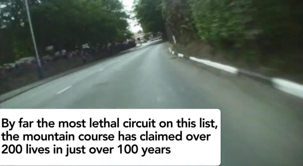 Die zehn gefährlichsten Rennstrecken der Welt.