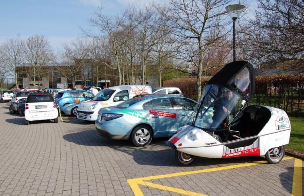 Elektro-Rallye von Dänemark nach Deutschland