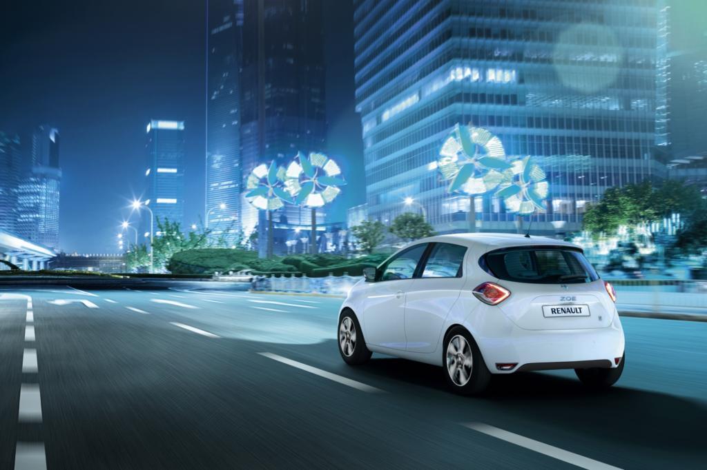 Elektroautos, wie der Renault Zoe, spielen bei neuen, städtischen Mobilitätskonzepten eine maßgebliche Rolle