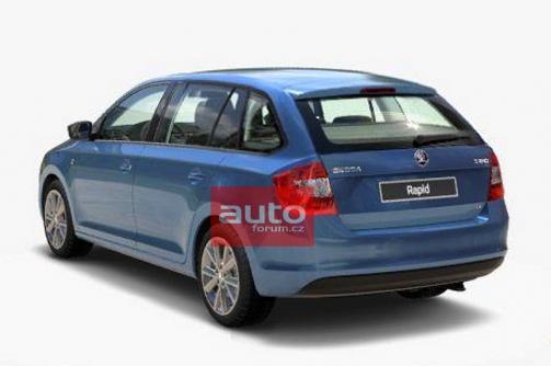 Enthüllt: So kommt der neue Škoda Rapid Kombi