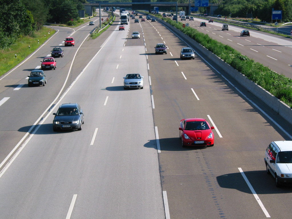 Entspannte Lage auf den Autobahnen