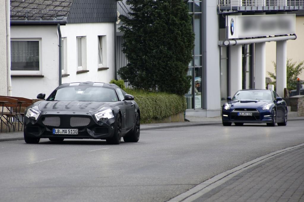 Erwischt: Erlkönig Mercedes SLC – Porsche-Killer mit Stern