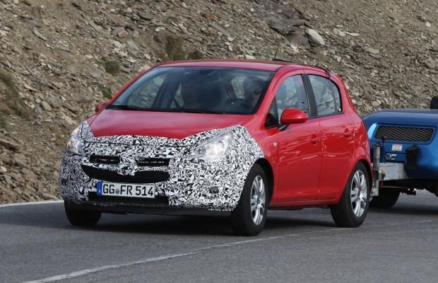 Erwischt: Erlkönig Opel Corsa Facelift – Der zieht was weg
