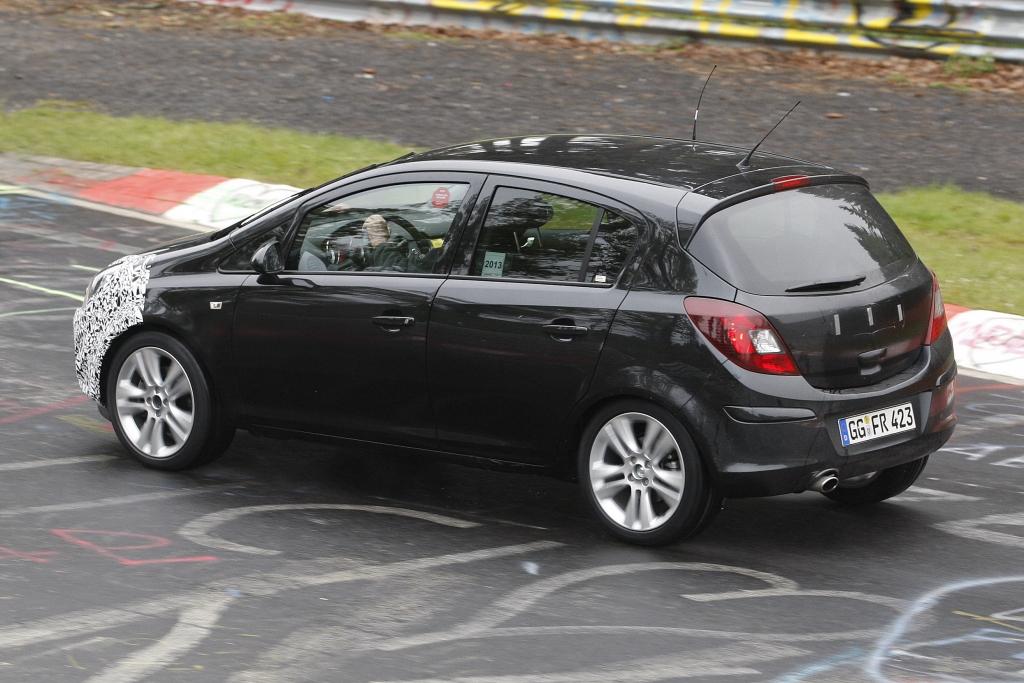 Erwischt: Erlkönig Opel Corsa Facelift – Ein langes Leben