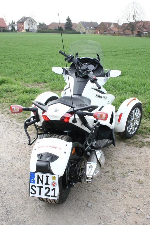 Fahrbericht Can-Am Spyder ST: Mischling