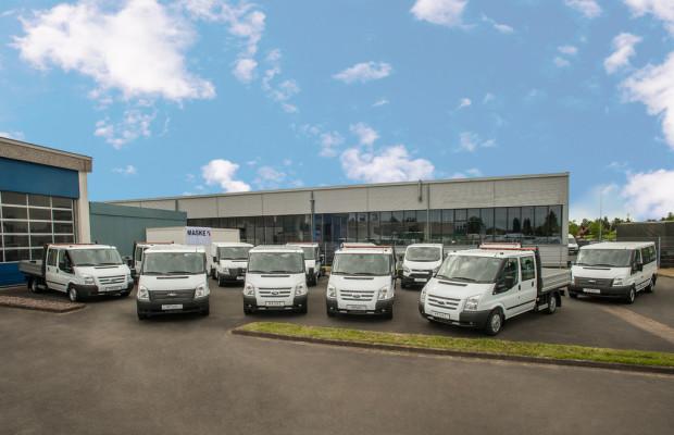 Ford liefert 100 Transit an Maske Fleet