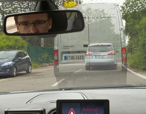 Ford testet elektronisches Bremslicht mit Warnfunktion