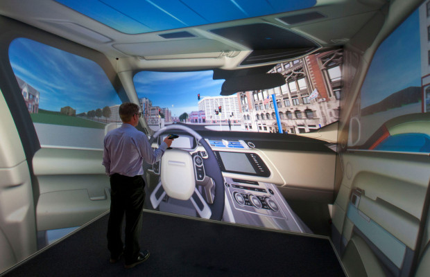 Jaguar Land Rover Partner bei Simulationsforschung