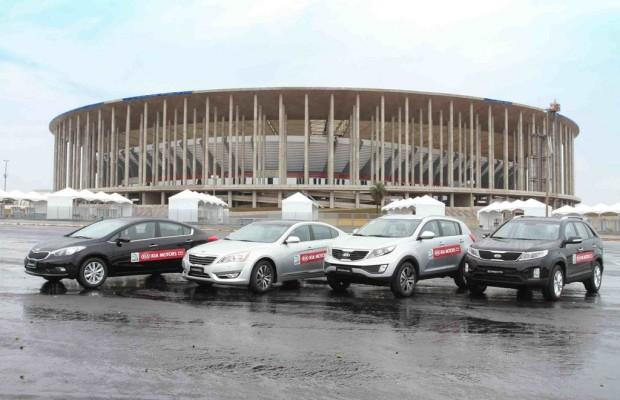 Kia stellt Fahrzeuge für Confederations Cup
