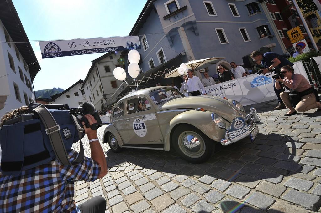 Kitzbüheler Alpenrallye: Wenn aus einem Studebaker ein Käfer wird