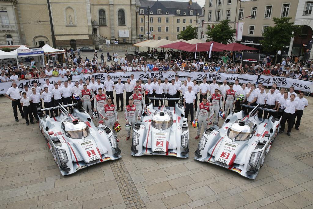 Le Mans 2013: Audi auf den ersten drei Startplätzen