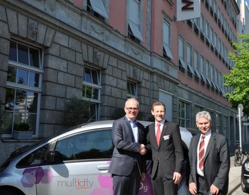 Mövenpick Hotel Berlin wird Kooperationspartner bei Citroën Multicity Carsharing Projekt
