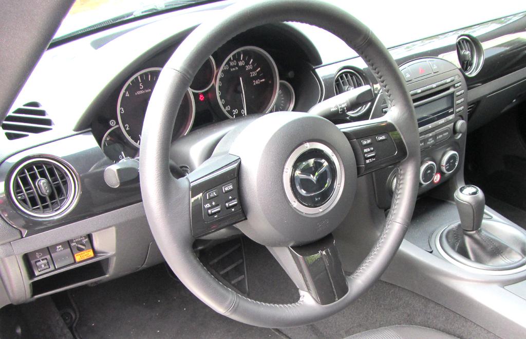 Mazda MX-5: Blick ins Cockpit.