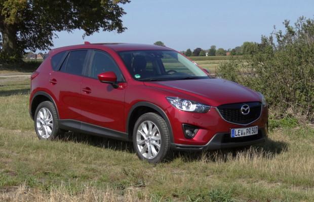 Mazda verbucht kräftiges Absatzplus