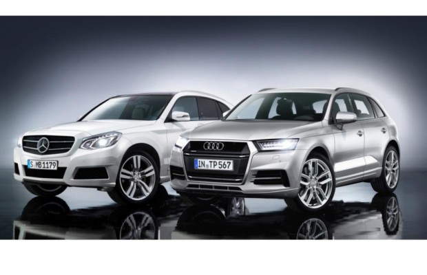 Mercedes/Audi - Erneuerte Edel-SUV