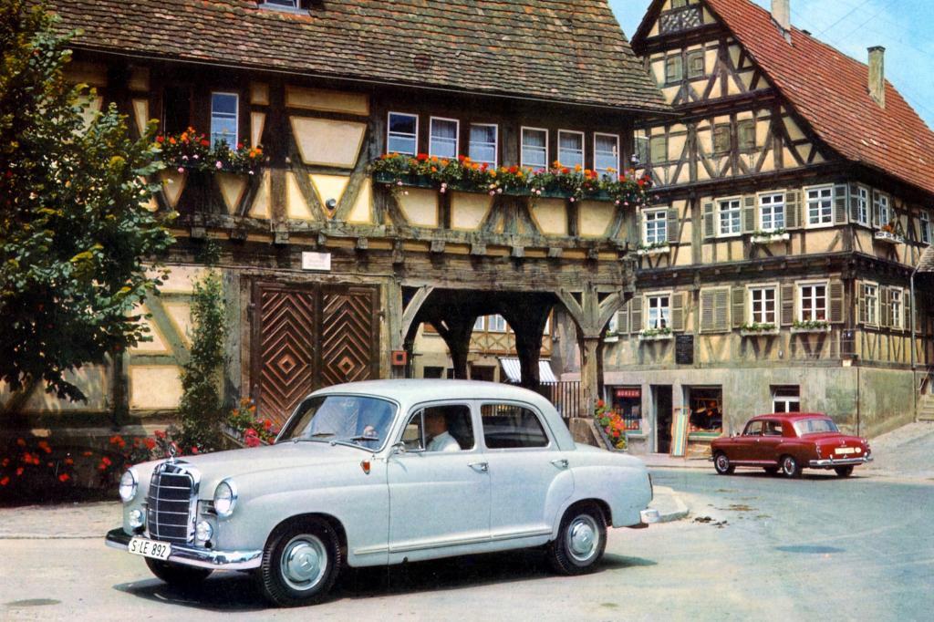 Mercedes Benz Ponton Modellfamilie Baureihen 120 und 121