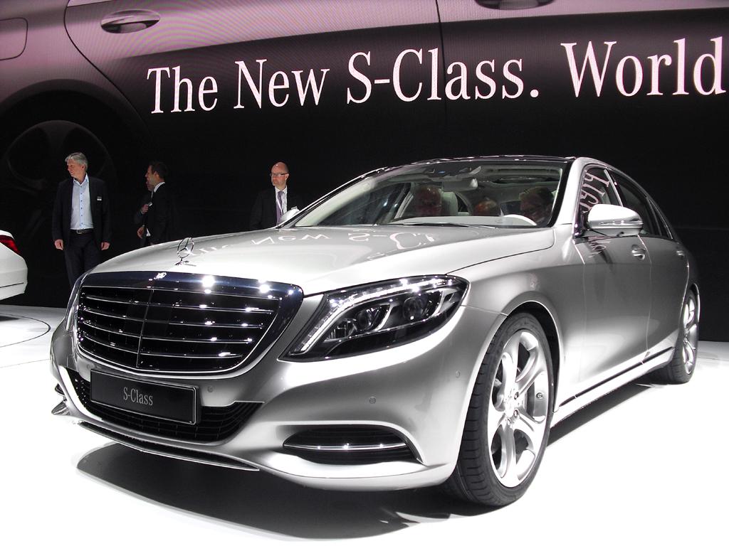Mercedes-Modelle, hier die neue S-Klasse, scheinen es dagegen jetzt etwas schwerer zu haben.