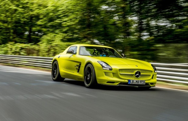 Mercedes SLS AMG Coupe Electric Drive - Elektrischer Sportler rockt am Ring