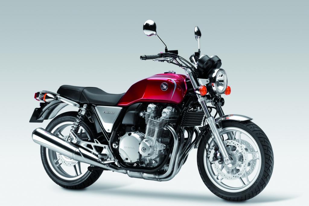 Mit der CB 1100, die in diesen Wochen auf den Markt kommt, erfüllt Honda die Wünsche vieler Fans