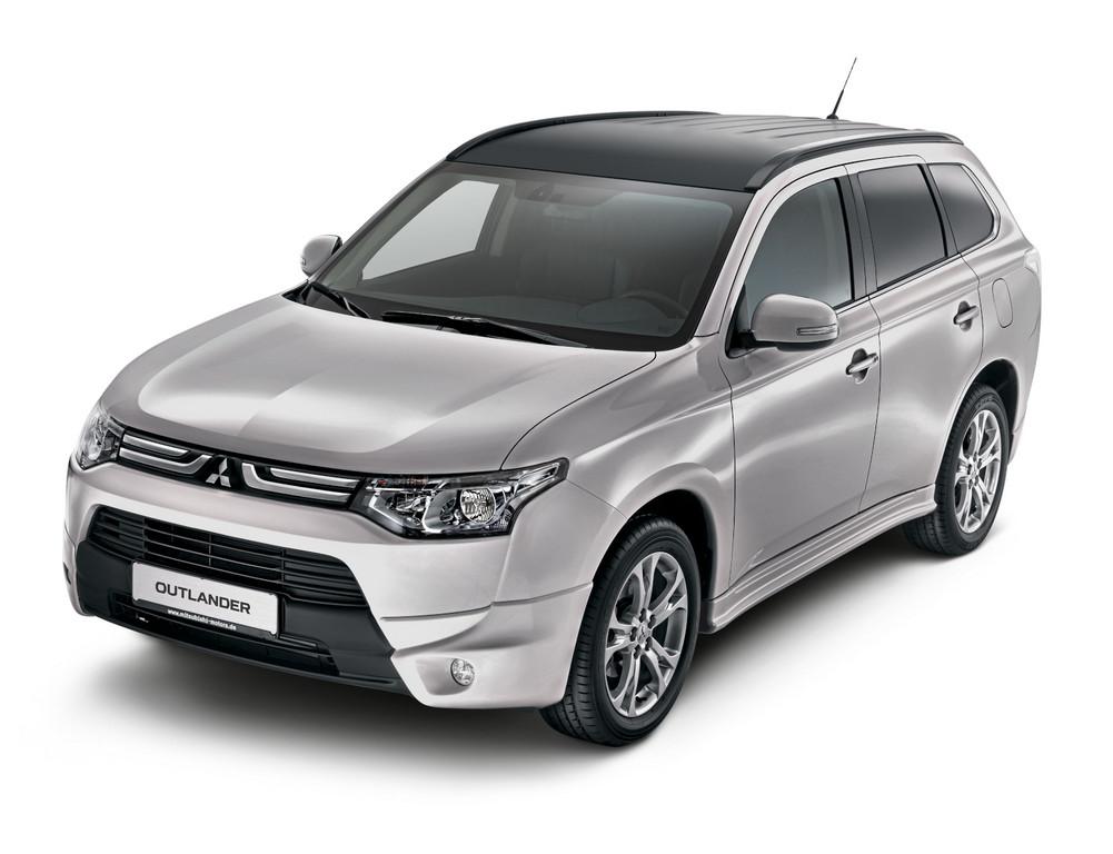 Mitsubishi Outlander mit kostenlosem Designpaket