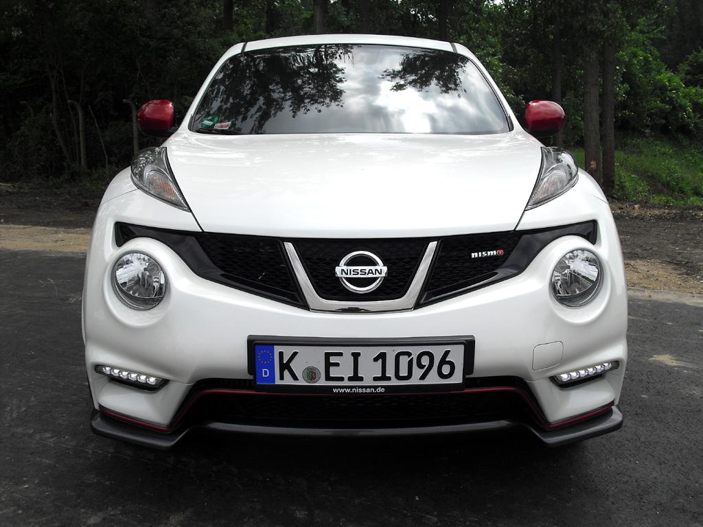 Nissan Juke Nismo: Blick auf die Frontpartie.