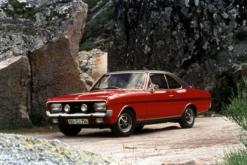 Opel Commodore A Coupe GSE 1970