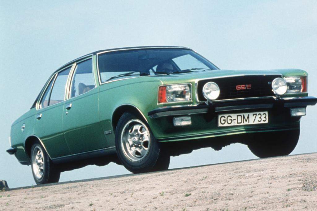 Opel Commodore B Limousine GSE 1972