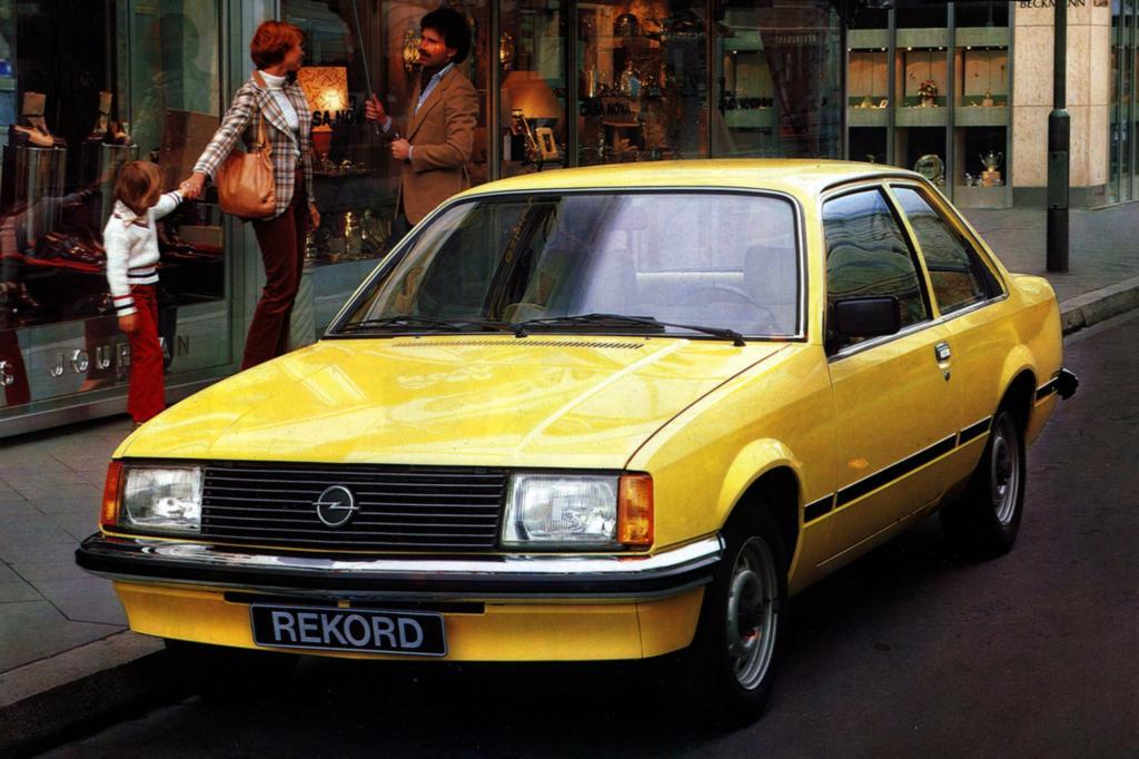 Opel E1 Limousine 1977