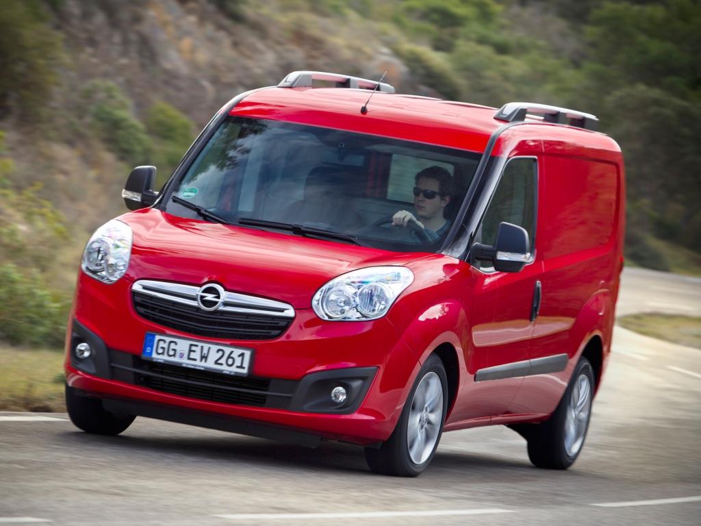 Opel Nutzfahrzeuge: Combo, Vivaro, Movano – drei Modelle, 338 Varianten