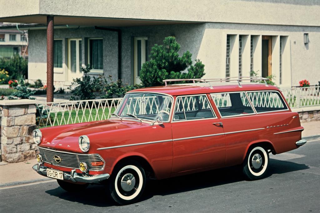 Opel Olympia Rekord P2 Caravan 1960